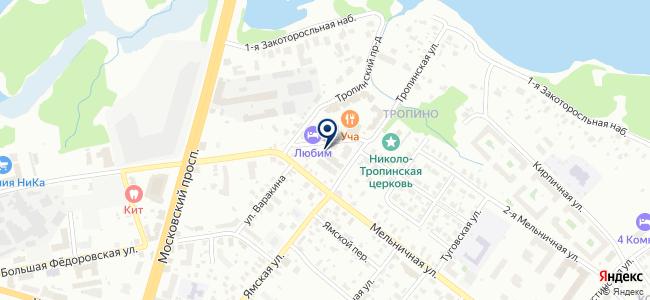 Гарантерм-Поволжье на карте