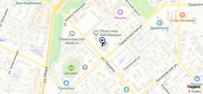 Центр информационных технологий Вологодской области на карте