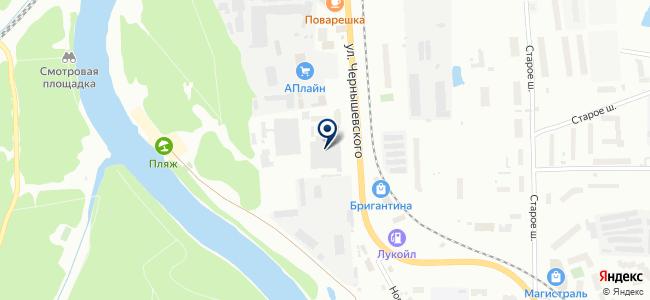 ПАТП-2, ОАО на карте