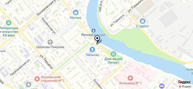 ГазПромЭнерго на карте