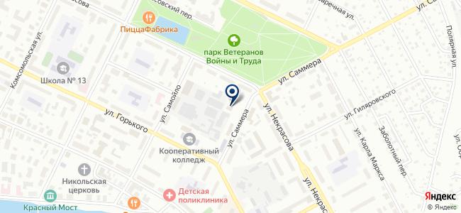 Вологодская механизированная колонна №19, ОАО на карте