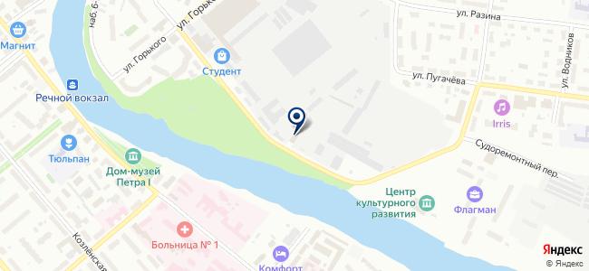 Вологодское ПАТП, ООО на карте