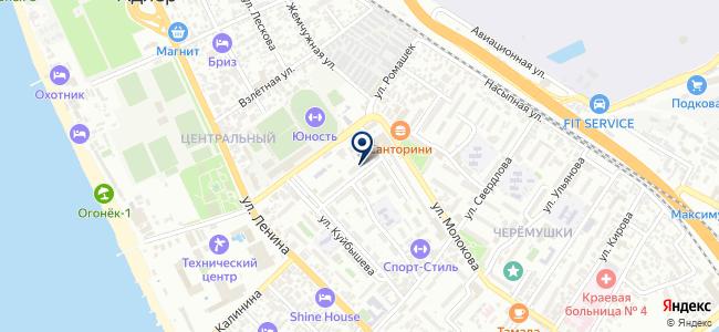 Астрея, ООО на карте