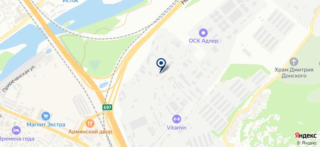 Строй-Юг, ЗАО на карте