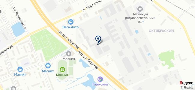 Ярославский радиозавод, ОАО на карте