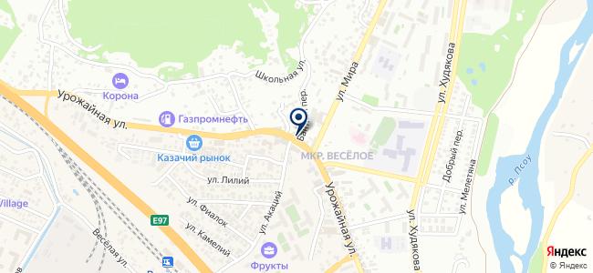 Санэл на карте