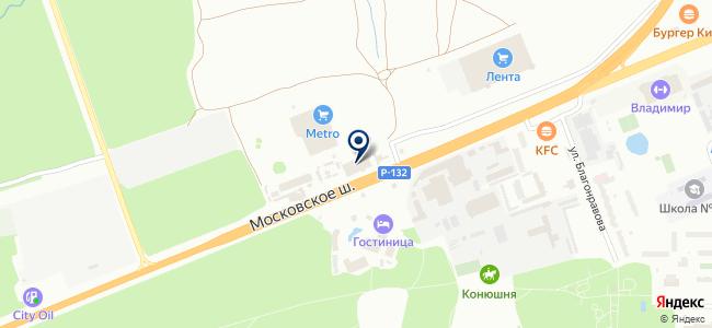 Восточный Экспресс на карте