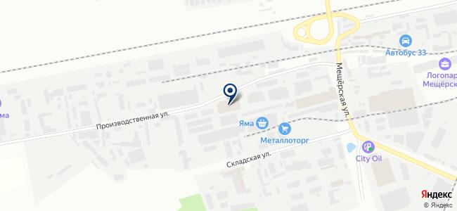 БОШ-центр Владимир на карте