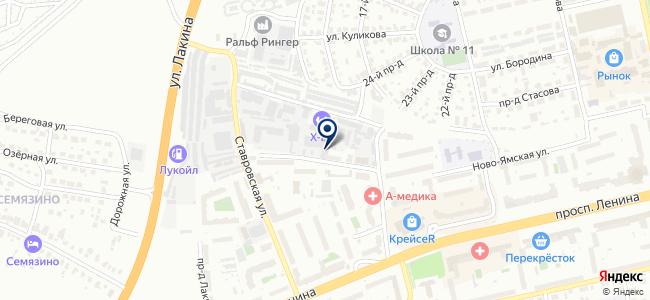 Студия потолочных технологий, ООО на карте