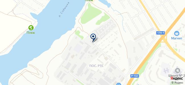 СвязьСтрой-8, ООО на карте