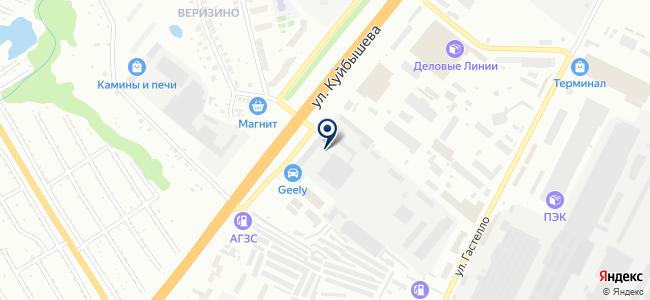 Тантал, ООО на карте