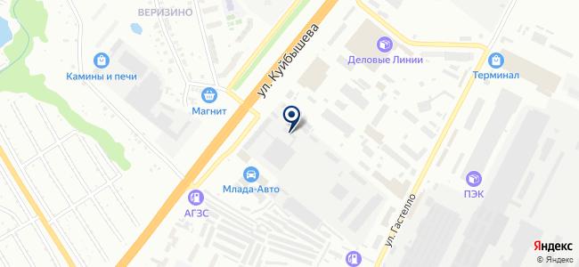 Кобра, ЗАО на карте