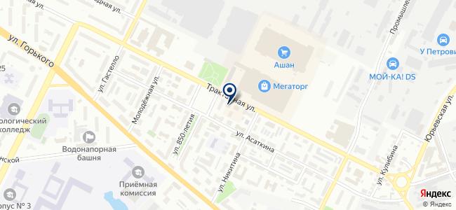 Теко-Умный дом на карте