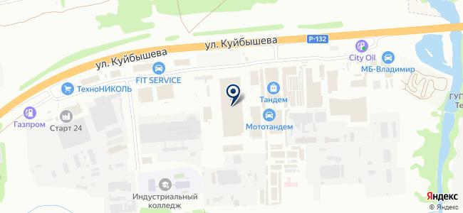 ЛедЭнерджис на карте