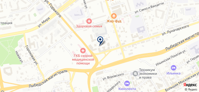 Полином, ООО на карте