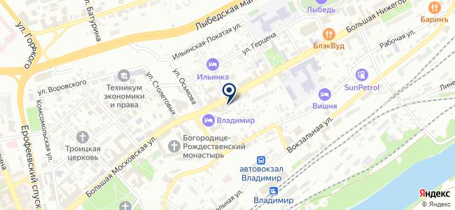 Энерго-М на карте