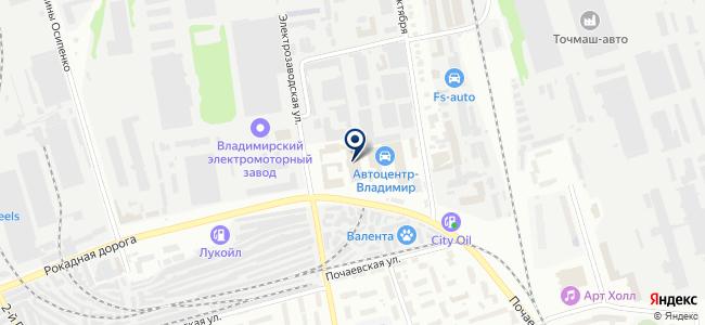 Факториал, ООО на карте