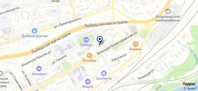 Ресурс, ООО на карте