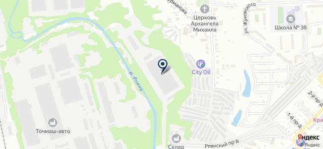 Алекспривод-Владимир на карте