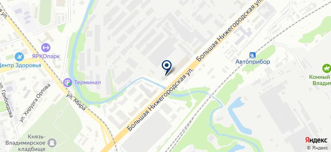 Автоприбор, ОАО на карте