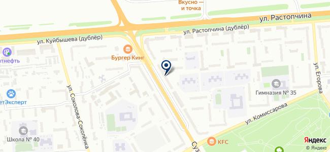 Розничная компания на карте