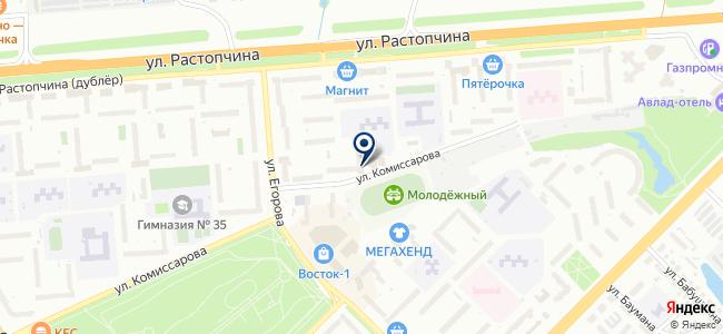 Поиск, ООО на карте