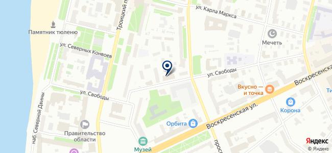 Компания Кадоро, ООО на карте