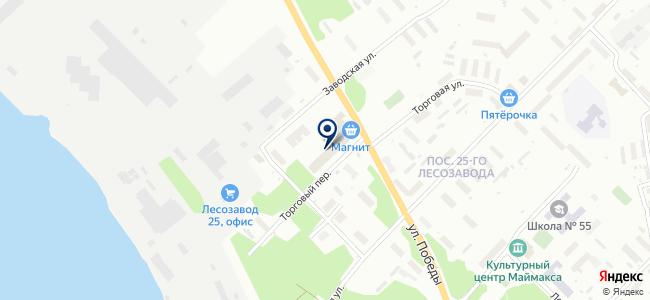 Фаворит, магазин на карте