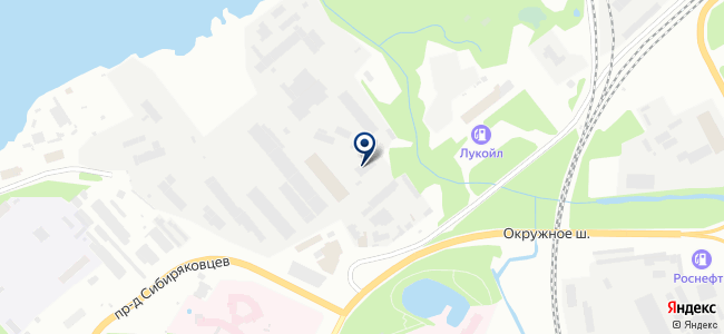 Северэнергомонтаж на карте