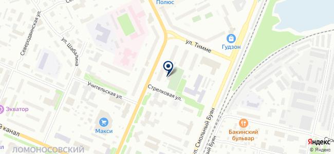 Техникс на карте