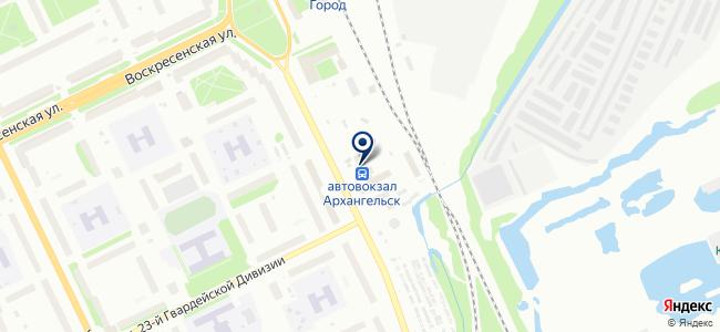 Инструмент 29.ру на карте