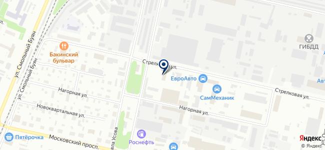 CRYPTON, ООО на карте