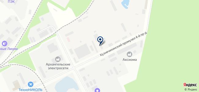 Север-Союз Сервис, ООО на карте