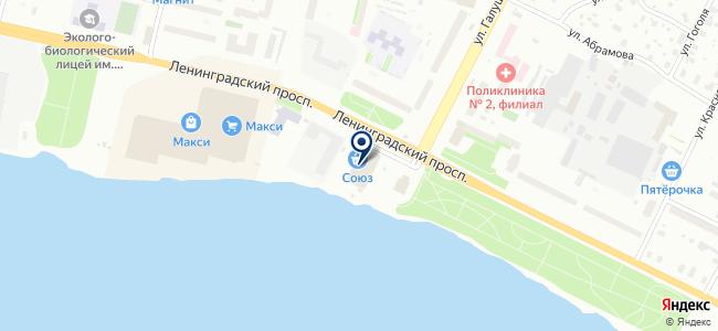 Эглайт на карте