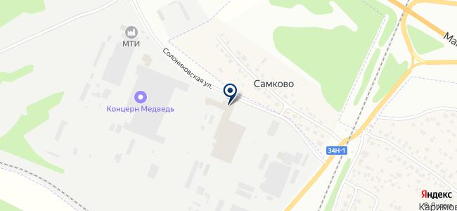 Костромагортранс, ПАТП на карте