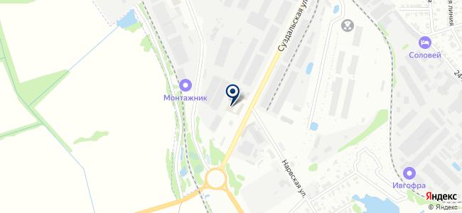 Росинтекс на карте