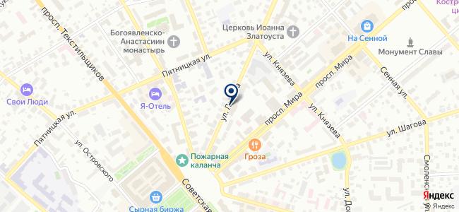 Декор, ООО на карте