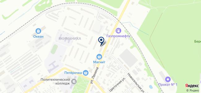 Светэлектро на карте