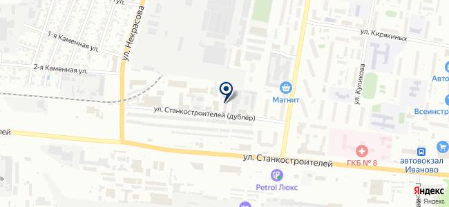 Кедр, ООО на карте