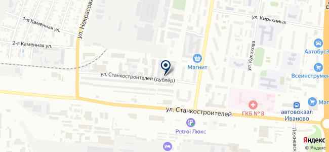 Промсвязьмонтаж, ОАО, монтажная компания на карте