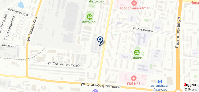Электро, ООО, Ивановский завод светотехники на карте