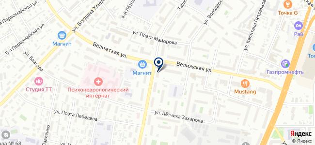 Радио Маяк на карте