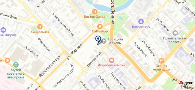СБ-логистик на карте