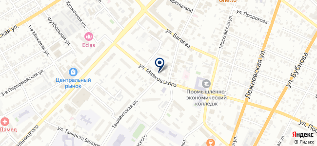 Центр испытаний и сертификации, ООО на карте