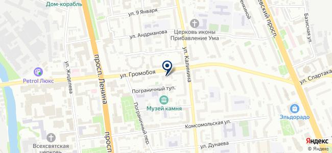 Мастак на карте