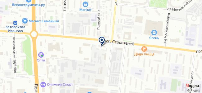 Компонент-сервис на карте