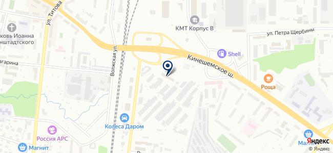 Электротехника, ООО на карте