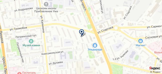 МНП НОМ-1, ЗАО, строительно-монтажная компания на карте