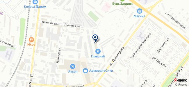 Гранс-лайт на карте