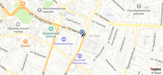 Дэлфи на карте